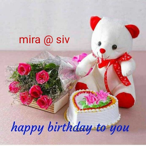 happy birth day - mira @ siv happy birthday to you - ShareChat