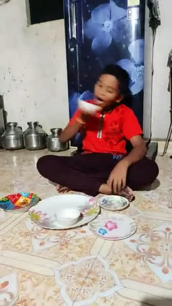 🍽 प्लेट चॅलेंज व्हिडीओ - ShareChat