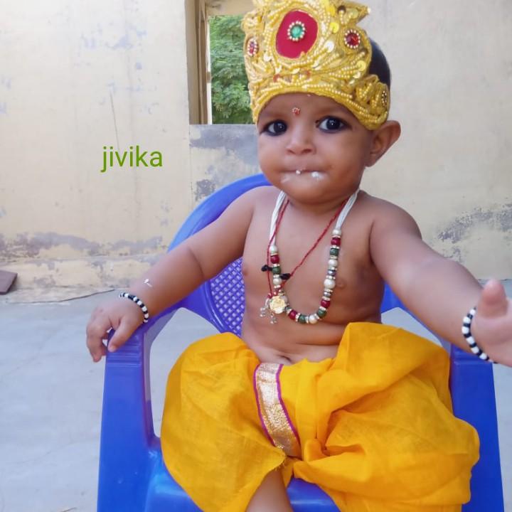 कृष्ण लीला - jivika - ShareChat
