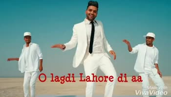 guru randhava - O lagdi Lahore di aa Made With VivaVideo Made With VivaVideo - ShareChat