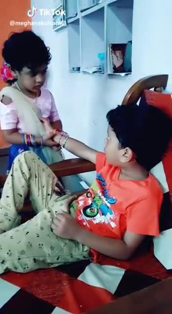 राखी की थाली - ShareChat