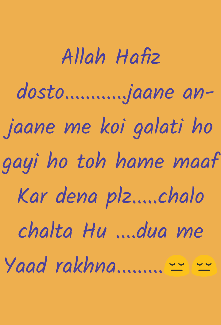 ❤ Miss you😔 - Allah Hafiz dosto . . . . . . . . . . . . jaane an jaane me koi galati ho gayi ho toh hame maaf Kar dena plz . . . chalo chalta Hu . . . . dua me Yaad rakhna . . . . . . . . . . wv - ShareChat