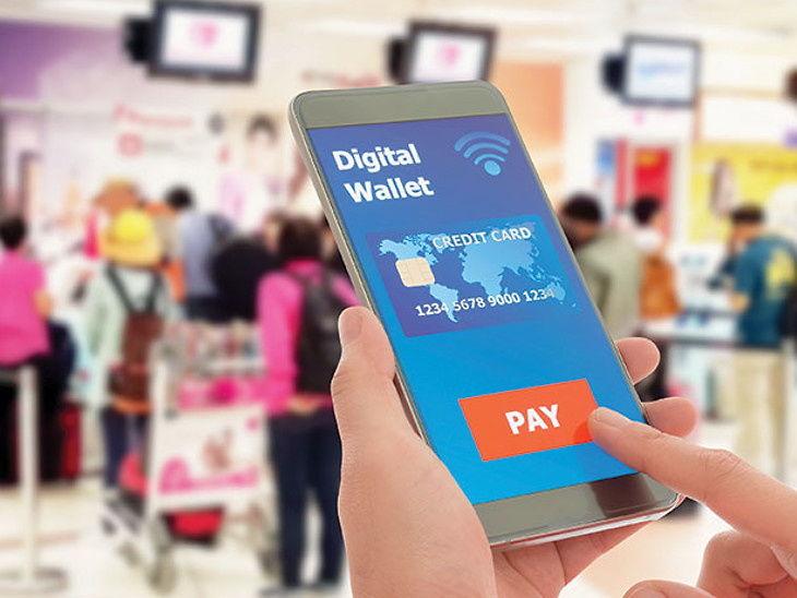 🏎 ઓટો અને ગેજેટ્સ સમાચાર - Digital Wallet SCREDIT CARD 1234 5678 9000 1234 PAY - ShareChat