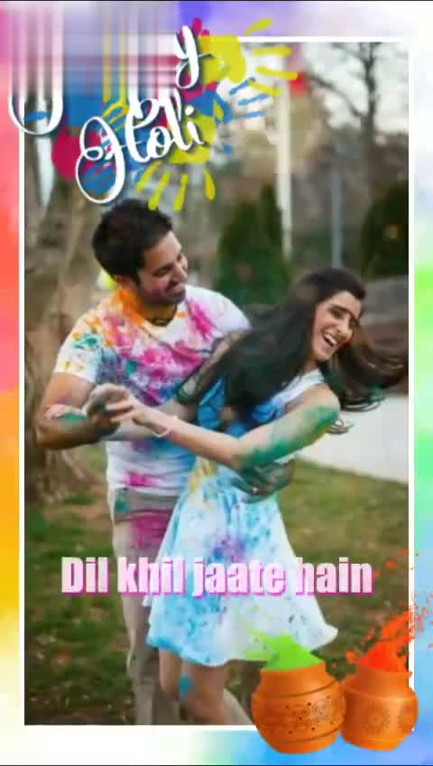 🕺 होली - बस 2 दिनों में - Download Voisi Dil khil jaate hain Download from Dil khil jaate hain A - ShareChat