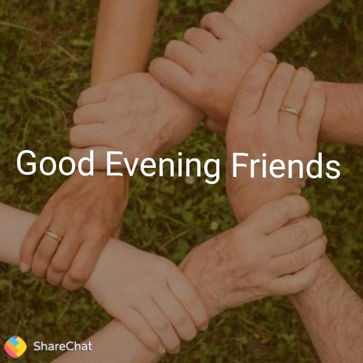 friends - Good Evening Friends ShareChat - ShareChat