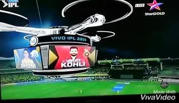 CSK vs RCB - LIVE - StarGOLD S . 2019 VIDEOT Made With VivaVideo Vivo IPL LIVE Star GOLD | RCB CSK V 1 - 0 । कोहली मावि 1 0 1 0 चहर 1 VIDEOCO adoth | - cuCU | rs ने टॉस जीता । | 017 - - ShareChat