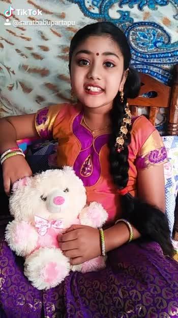 👼కిడ్స్ డబ్ స్మాష్🎬 - @ saratbabupartapu Tik Tok @ saratbabupartapu - ShareChat