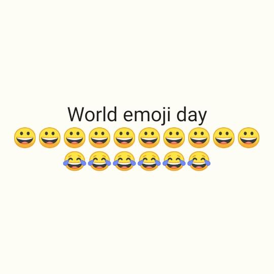 😃वर्ल्ड इमोजी डे😃 - World emoji day - ShareChat
