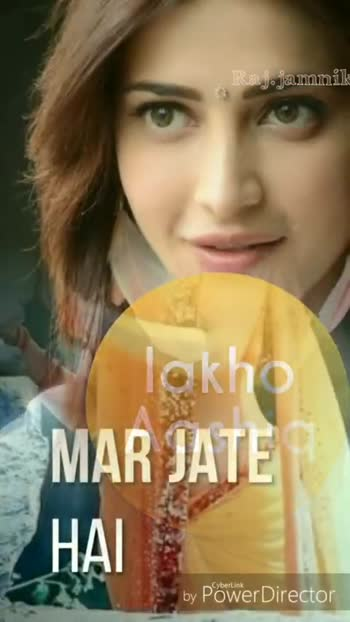 Awesome Status Song - Raj . jamnik तेरी by Power Director Raj . jamnik सारे हिदुस्तान by Power Director - ShareChat