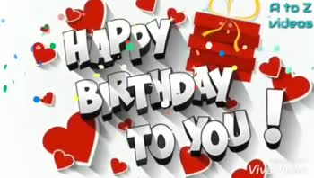 🎂  जन्मदिन की बधाई - Altoz videos Made With • VivaVideo El TOZ videos VERULDAK Made with VivaVideo - ShareChat