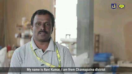జాతీయ చేనేత దినోత్సవం - At Channapatna Craft Park Artisans die , but the skills and the art do not fade away  - ShareChat