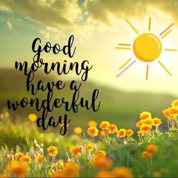 🌅శుభోదయం - Good morning have go / wonderful - ShareChat