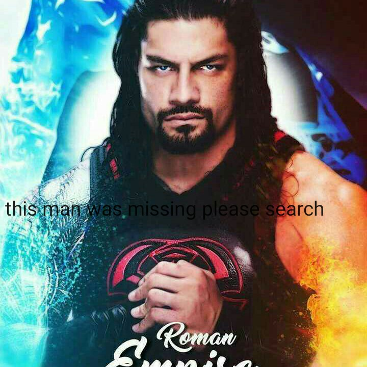🤼♂️WWE - this man was missing please search a Roman RE - ShareChat