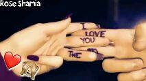 इश्क़-मोहब्बत - Rose Sharia LOVE YOU - ShareChat