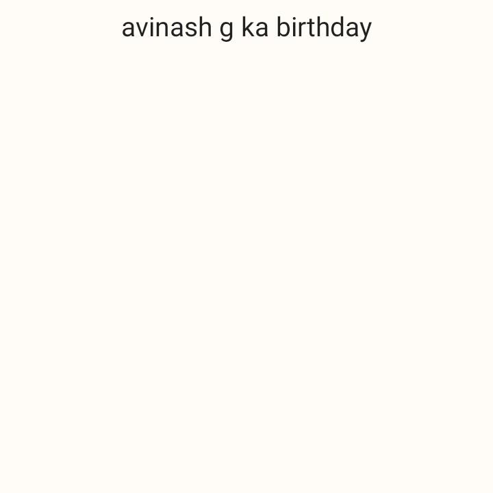 🎂 रोहित शर्मा बर्थडे - avinash g ka birthday - ShareChat