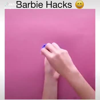 🤣হাস্যকর ভিডিও - Barbie Hacks Tik Tok @ cutegirlprint Barbie Hacks J cutegirlprie - ShareChat
