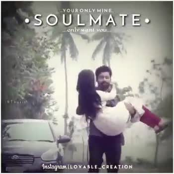 cuteeeeeee so cute 💟💟💟💟💟 - YOUR ONLY MINE . •SOULMATE Only want you . . . . Tharik Instagram | LOVABLE _ CREATION LYOUR ONLY MINE . • SOULMATE : sly want you . . . Instagram ILOVABLE _ CREATION - - ShareChat