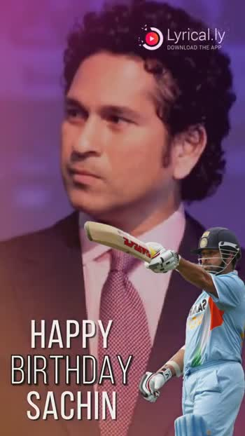 Download Happy Birthday Sachin खबर और