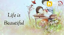 Romantic Whatsapp Status - Hii If you Feel so . . Think positive And Live happy Celebrate Life - ShareChat