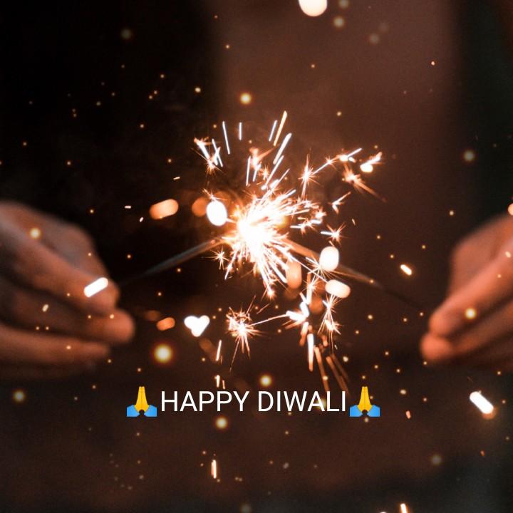 दीपावली की शुभकामनाये🙏 - A HAPPY DIWALIA ; - ShareChat