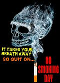 🚭धूम्रपान निषेध दिवस - IT TAKES YOUR BREATH AWAY SO QUIT ON . . . SMOKING - ShareChat