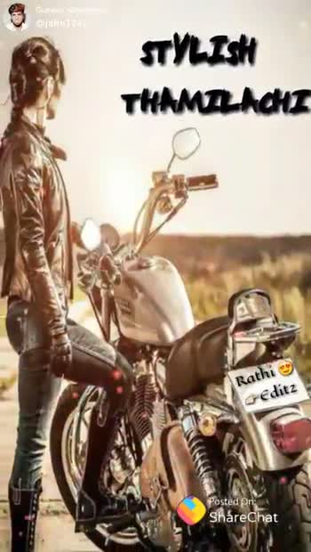Aji💘 - STYLISH THAMEL ACHI Rathi Editz : ShareChat john vasanth john7242 life is one time enjoy is every time Follow - ShareChat