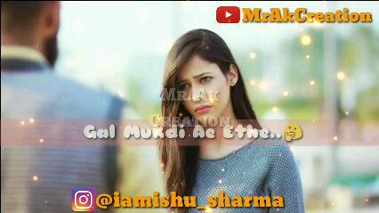 😔😔sad song 😔😔 - MrAkCreation MR . AK CEANON • Teinυ Θhυίλα Meiw Chowo 5 Raato Raat Bhull Jaa 3 O @ iamishu _ sharma - ShareChat