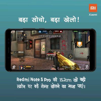 मोबाइल और विडीयो गेम - וח Xiaomi बड़ा सोचो , बड़ा खेलो ! Firf 10 ALLIES Team REBELS # ७ OCCUPY 01 : 28 । LV4 HP + 110 , ATK + 120 SITE OCCUPATION PROGRESS : 0 % Auto Fire OFF 210 अन् । । 2856 Redmi Note 5 Pro की 15 . 2cm की बड़ी स्क्रीन पर बड़े गेम्स खेलने का मजा पाएं । וח Xiaomi बड़ा सोचो , बड़ा खेलो ! 6 । 10 EfffTeam ALLIES REBELS Ea ७ । OCCUPY [ 01 : 28 LV 4 HP + 110 , ATK + 12034 SITE OCCUPATION PROGRESS : 0 % ) Auto Fire E OFF 210 Redmi Note 5 Pro की 15 . 2cm की बड़ी स्क्रीन पर बड़े गेम्स खेलने का मजा पाएं । - ShareChat