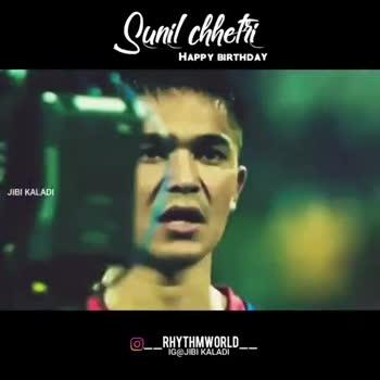 ⚽ Happy Birthday Sunil Chetri - ShareChat