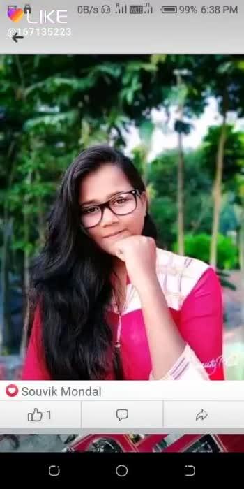 ঝংকার - LIKE @ 167135223 Sweet Selfie LIKE APP - ShareChat