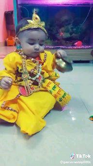 ਕ੍ਰਿਸ਼ਨਾ ਭਜਨ - Tik Tok @ gauravrastogio001 - ShareChat