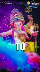 happy ganesh chturthi - Posted on : પોસ્ટ કરનાર : @ 53962091 Share that Stirne atiting - ShareChat
