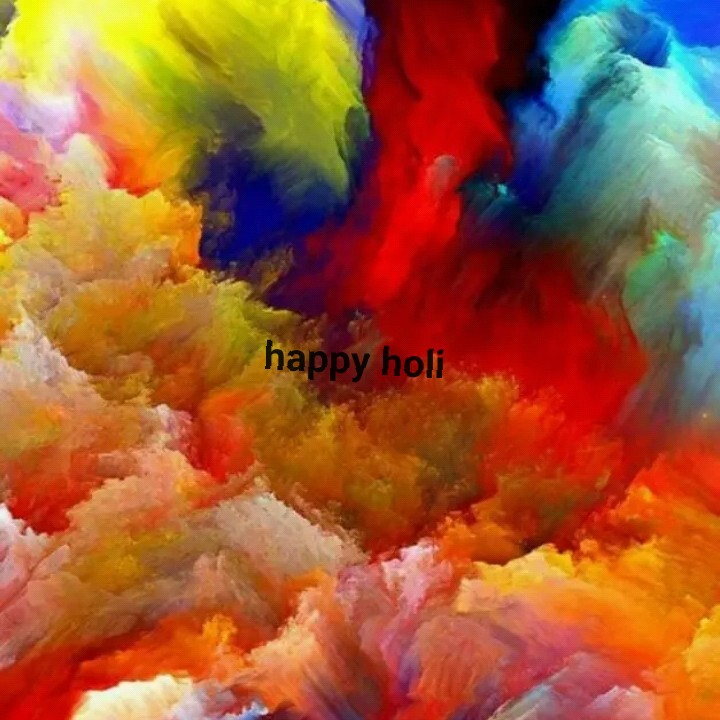 happy holi in advance - ShareChat