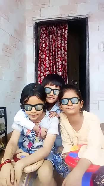 kids enjoining 👍😁 😁 - ShareChat