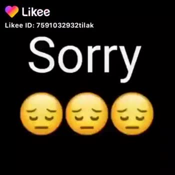 sorry 🙏🙏🙏 - ShareChat