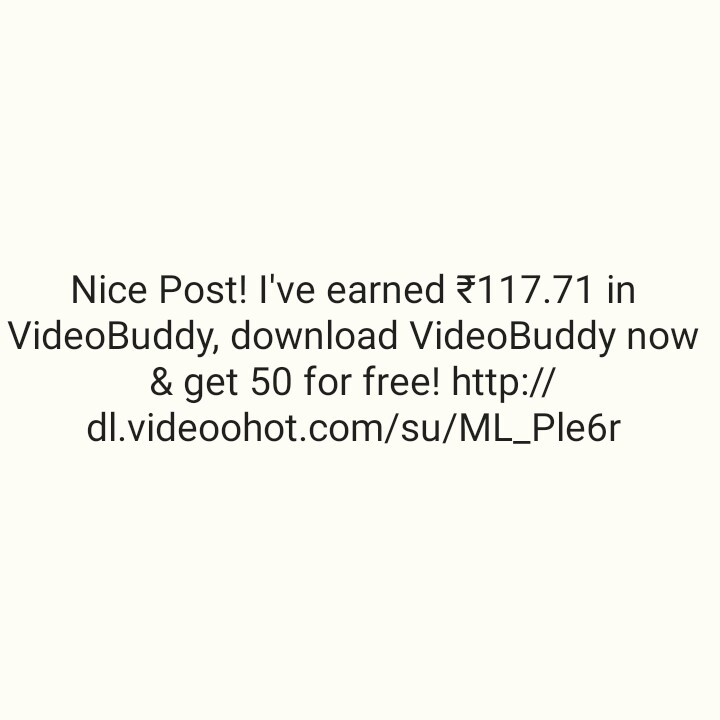 📅शेअरचॅट कॅलेंडर - Nice Post ! I ' ve earned 117 . 71 in VideoBuddy , download VideoBuddy now & get 50 for free ! http : / / dl . videoohot . com / su / ML _ Pleor - ShareChat