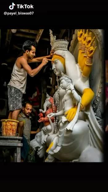 মা দুর্গা - Happiness is বর্ষা কালের পরেই শরৎ কাল মা আসছে facebook . com / N . B . K . ৭7       @ payel _ biswas07 @ payel _ biswas07 - ShareChat