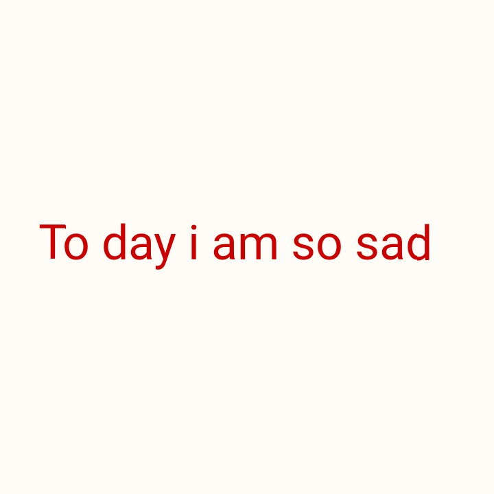 sad sad - To day i am so sad - ShareChat