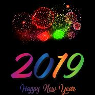 happy new year 2019 - : : 2019 Happy New Year - ShareChat