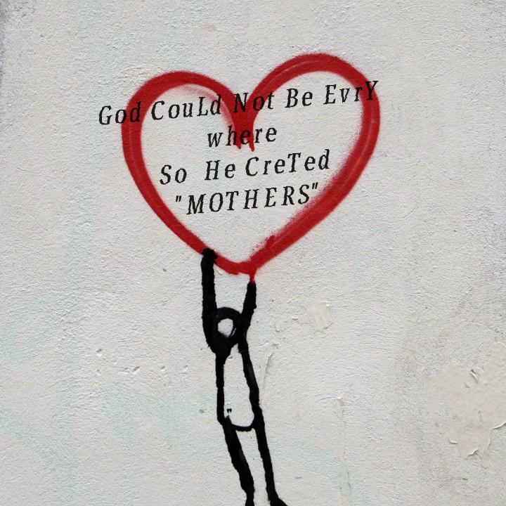 💑 സ്നേഹം - God Could Not Be Evry where So He Creted MOTHERS - ShareChat