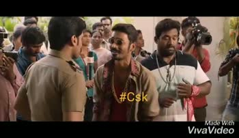 🏏 CSK vs KXIP - nams Made with VivaVideo # esk # arisol Made with VivaVideo - ShareChat