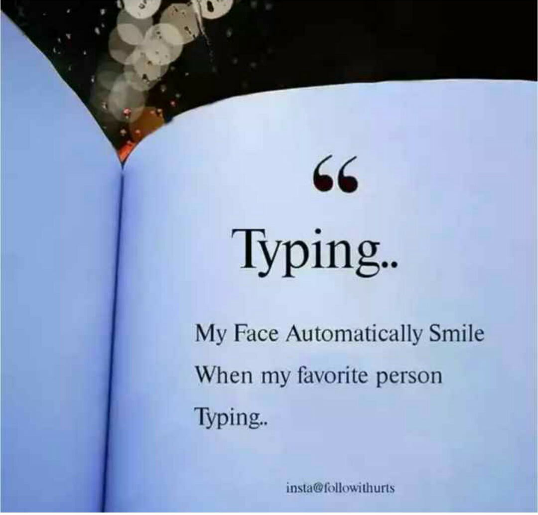 friendship status 👭👬 - 66 Typing . . My Face Automatically Smile When my favorite person Typing . insta @ followithurts - ShareChat