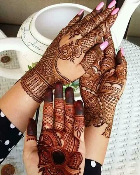मेहंदी डिजाइन - ShareChat