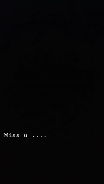 😢 Miss you - Miss u . . . . Miss u . . . . - ShareChat
