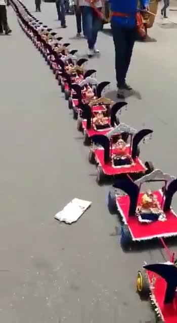 🏵 आरती ताट व्हिडीओ - ShareChat