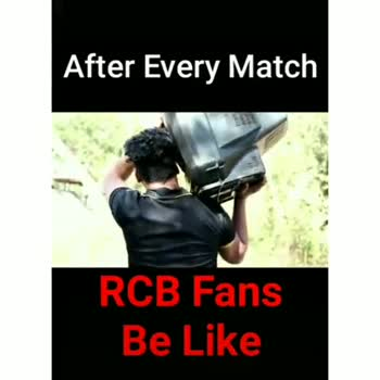 🔴 RCB vs KKR 💜 - After Every Match RCB Fans Be Like After Every Match RCB Fans Be Like - ShareChat