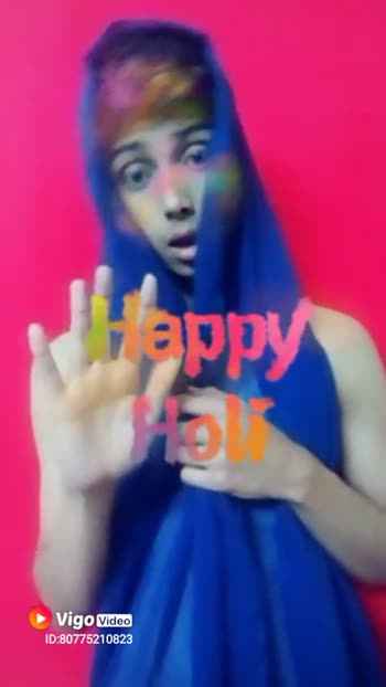 ShareChat Champions - Happy Holi Video ID : 807521Оваа happy Holi Video ID : 80775210823 - ShareChat