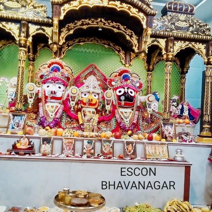 🌞 મારાં શહેરનું જગન્નાથ મંદિર - IS ESCON BHAVANAGAR - ShareChat
