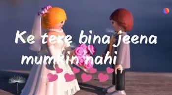 Romantic Love 🎶Song - Welike Download app Pe tu kabhi soch na sake Welike Download app - ShareChat