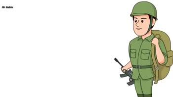 🇮🇳  देशभक्ति - Mr Bablu बोलते है ये बंदा चुप रहते है । डरपोक समझते है । Mr Bablu LO Army Boy - ShareChat